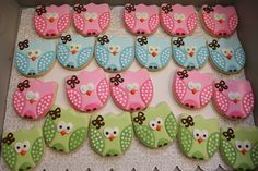 The cutest owl cookies
