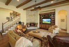 6238 - traditional - living room - houston - Heavenly Homes
