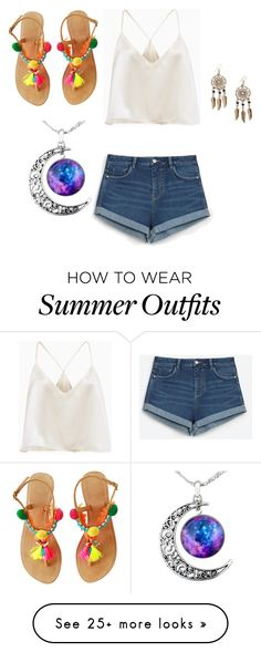 """""""Early Summer Outfit"""" by jelly12-861 on Polyvore featuring Zara and Boohoo"""