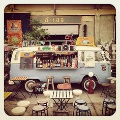 The Mobil Street Cafe Vw Food Truck