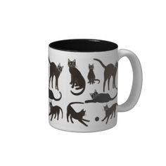 Blackie the Black Cat Mug  #cats   #blackcat