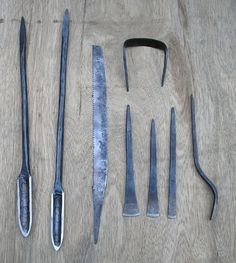 View topic - some new old tools Forging Tools, Blacksmith Tools, Blacksmith Projects, Antique Tools, Old Tools, Green Woodworking, Woodworking Tools, Metal Working Tools, Wood Working