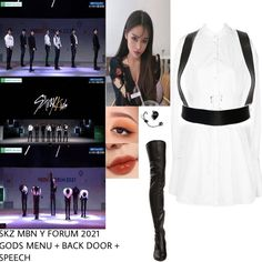 Bts Inspired Outfits, Kpop Fashion Outfits, Look Fashion, Red Carpet, Ideias Fashion, Stage, Concert, How To Wear, Inspiration