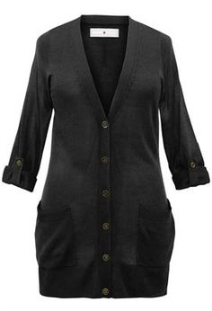 Plus Size Long Boyfriend Cardigan | Plus Size Sweater & Cardigan Clearance | Avenue