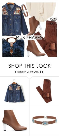 """""""Yoins"""" by teoecar ❤ liked on Polyvore featuring Dr. Denim, Alexander McQueen and Marni"""