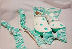 Turquoise Suspenders Outfit Matching Unisex by BundlesOfJoyDesigns