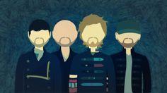 Coldplay minimalist wallpaper