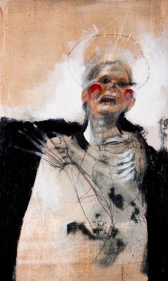 that wise shiver Kunst Inspo, Art Inspo, Arte Horror, Horror Art, Outsider Art, Art And Illustration, Figurative Kunst, Macabre Art, Creepy Art
