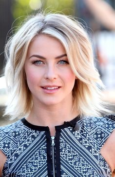 More Pics of Julianne Hough Layered Razor Cut