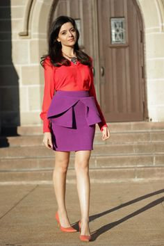 the peplum trend is a nightmare for all but the straightest figures. as if my hips need their own AWNING?