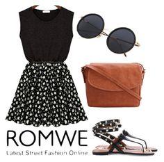 """Romwe 1"" by ahmetovic-mirzeta ❤ liked on Polyvore"