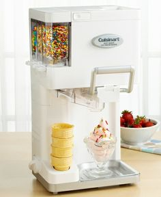 Cuisinart ICE-45 Ice Cream Maker, Soft Serve Mix-it-In from Macy's on shop.CatalogSpree.com, your personal digital mall.
