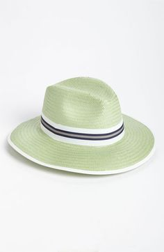 Love! Perfect summer fedora, on sale.