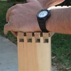 Without wood joinery, a woodworking project would need to be carved from a single piece of wood. Here are the basic wood joints and when to use each one. #WoodworkingProjects