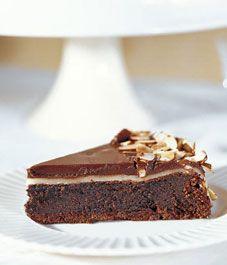 Recipe: Flourless chocolate almond cake