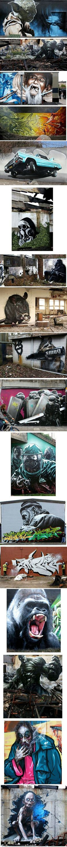 This is real graffiti