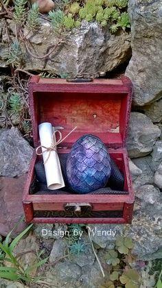 Dragon Purple Dragon Egg 5 in Dragon Egg by DesignByWendyBgd ...