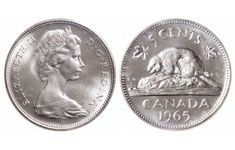 Top 10 rare Canadian nickels include the 1926 far 1947 dot, 1951 high relief, 1953 Shoulder Fold (SF) Far Maple Leaf, the 1925 and 1965 large beads. Rare Coins Worth Money, Valuable Coins, Valuable Pennies, Coin Collection Value, Maple Leaf Images, Thousand Dollar Bill, 1943 Penny, Coin Jar, Rare Pennies