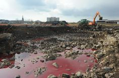 Réhabilitation du site Cockerill Sambre II à Charleroi #brownfields #fricheindustrielle #remediation #rehabilitation #spaque