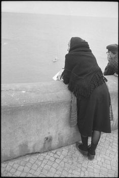 Nazaré, Portugal Gordon W. Gahan, American (New York, New York 1945 - 1984 St. Thomas, US Virgin Islands) Title Untitled (woman looking out over sea wall, Nazaré, Portugal) Photo Editor |