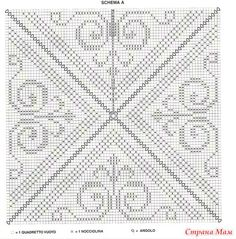 18 muestras de colchas tejidas a ganchillo ⋆ Crafts and DIY Crafts and DI . Granny Square Häkelanleitung, Granny Square Crochet Pattern, Crochet Diagram, Crochet Squares, Filet Crochet, Crochet Motif, Crochet Doilies, Crochet Granny, Modern Crochet Patterns