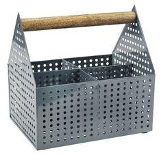 Cutie depozit VICKLEBY 15x20x20 gri | JYSK Bathroom Storage, Small Bathroom, Bell Tent, Wood Sizes, Plastic Laundry Basket, Ikea, Home, Online Shopping, Workplace