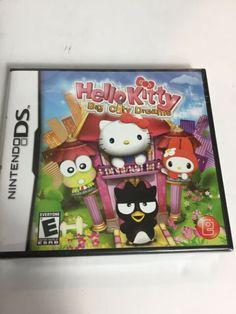 Hello Kitty: Big City Dreams (Nintendo DS, for sale online Nintendo Game Boy Advance, Nintendo Ds, Nintendo Games, Nintendo Switch, Ds Games, Mini Games, Ty The Tasmanian Tiger, Tomb Raider Legend, Gameboy Games