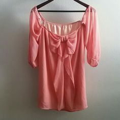 Peach Spring Dress Beautiful Boutique Peach Dress, Perfect for spring! Dresses Strapless