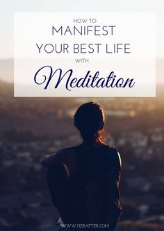 Manifest YOUR Best Life with Meditation. Now you can learn to meditate and build a meditation practice right from home. Plus, you'll learn 11 powerful mantras of positive affirmations to help you meditate and create YOUR best self. Learn to meditate online with the new Meditation class by Rachael Yahne. Click to learn more!