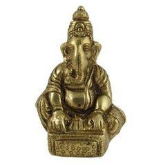 Sculpture en Laiton du Dieu Ganesh: Amazon.fr: Cuisine & Maison