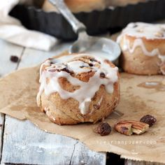 The Best Almond Flour Cinnamon Rolls from @theurbanposer