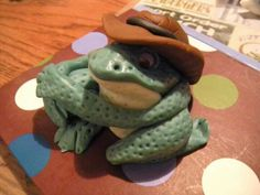 Mr Toad I made from Fondant