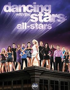 Dancing with the Stars season 15 All Star cast: Pamela Anderson, Joey Fatone, Drew Lachey, Helio Castroneves, Bristol Palin, Sabrina Bryan, Kirstie Alley, Gilles Marini, Apolo Anton Ohno, Emmitt Smith, Kelly Monaco, Shawn Johnson, and Melissa Rycroft.