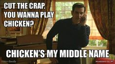 Don't mess with him. Gab Solórzano Gab Solórzano Gab Solórzano Escalante this is for chicken lol Modern Family Memes, Modern Family Tv Show, Tv Quotes, Movie Quotes, Family Video, Family Rules, Lol, The Funny, Funny Pictures