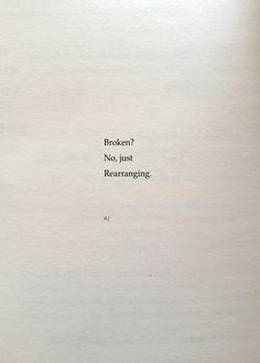 Broken? A new poem. #poetry #quotes #love