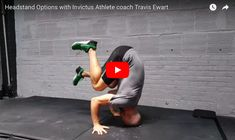 Time to get upside down! Invictus Athlete gymnastics coach Travis Ewart discusses and demonstrates options to learn a headstand which leads to a handstand and handstand push-ups.