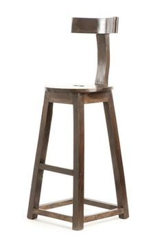 Rustic Wooden Bar stool,these wood bar stools are perfect to slip underneath the counter and out of the way when not in use.Sure it will give fantastic look to your bar. Rustic Bar Stools, Wood Counter Stools, Wooden Counter, Wood Stool, Bar Counter, Rustic Industrial, Modern Rustic, Rustic Style, Rustic Wood