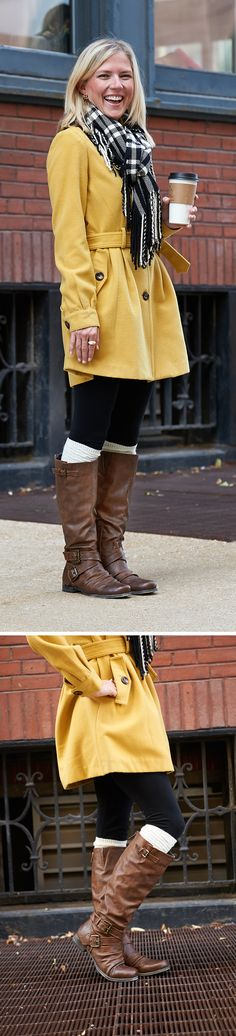 "Cold weather brings cute and cozy looks! Complete your favorite winter outfit with Carlos by Carlos Santana ""Haley"" riding boots!"