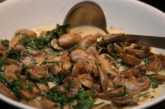 Mushrooms with herbs, Georgian style / Seened ürdikastmes, Gruusia stiilis by Pille - Nami-nami, via Flickr
