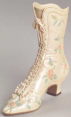 Victorian Wedding Boot