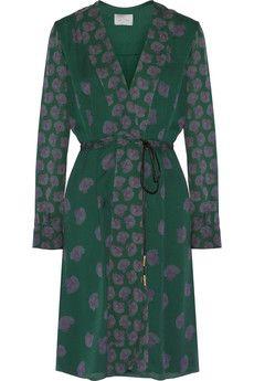 Maiyet Printed silk dress | NET-A-PORTER