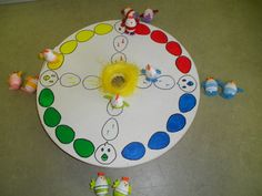 Easter game with chickens Easter Games, Easter Activities, Craft Activities, Preschool Crafts, Easter Crafts, Spring Crafts For Kids, Spring Projects, Diy For Kids, Projects To Try
