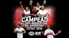 São Paulo Futebol Clube   Campeão da Copa Bridgestone Sul-Americana 2012