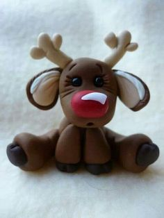 Rudolph domo also cute felt idea