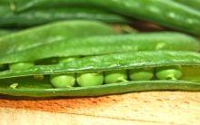 Easy fresh peas