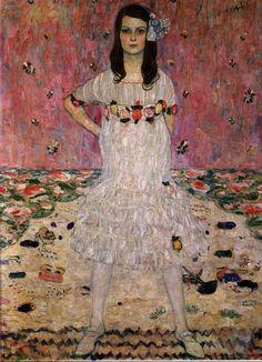 Gustav Klimt    Pink inspiration