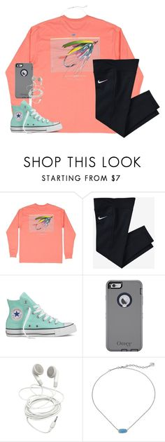 """you've got a smile that takes me to another planet."" by kaley-ii ❤ liked on Polyvore featuring NIKE, Converse and Kendra Scott"