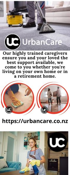 Our highly trained caregivers ensure you and your loved the best support available, we come to you whether you're living on your own home or in a retirement home.Urban Care focuses on properly training our caregivers and matching you with a compatible aged care support worker. Caregiver Services, Domestic Cleaning Services, Aged Care, Personal Hygiene, New Zealand, Retirement, Household, Good Things, Training