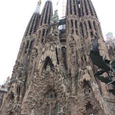 Le segrata familia, Barcelona Spain