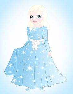 Little princess: Elsa by Willemijn1991 on DeviantArt